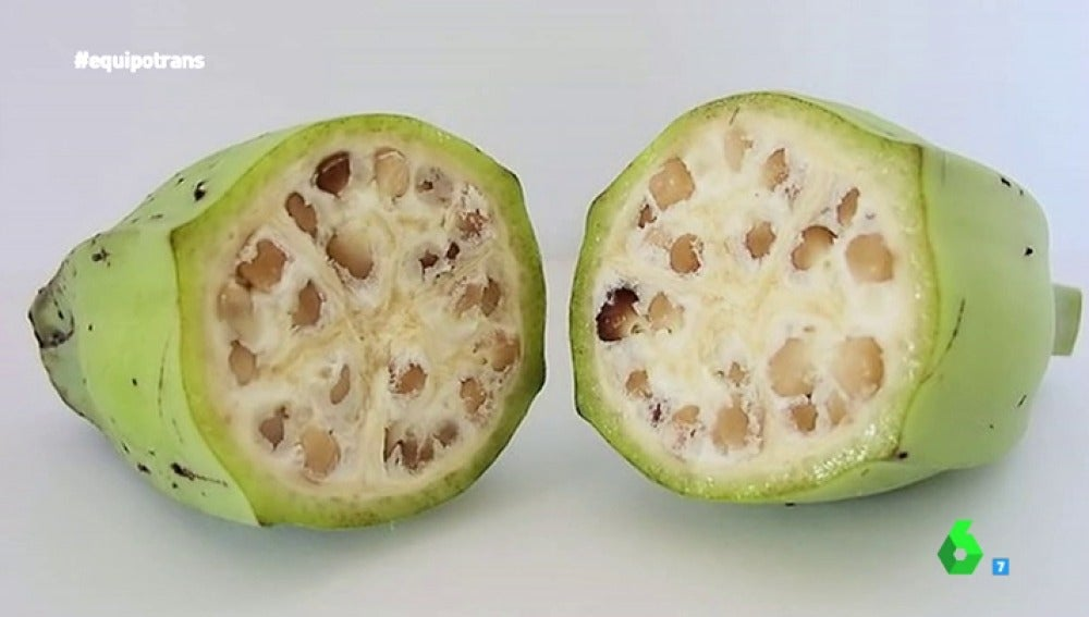 Frame 44.471616 de: Plátanos con pepitas, zanahorias moradas... ¿Conocemos el aspecto real de los alimentos?