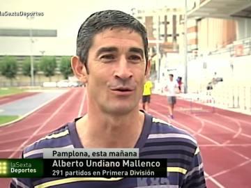 Undiano Mallenco, el árbitro con más partidos en Primera.