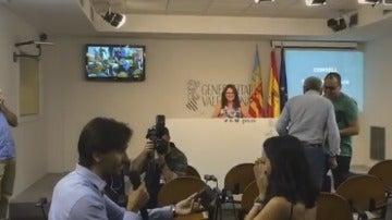 Rueda de prensa de Mónica Oltra