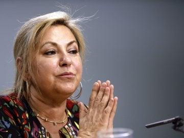 Rosa Valdeón se dirige a los medios tras ser arrestada por triplicar la tasa de alcohol en sangre