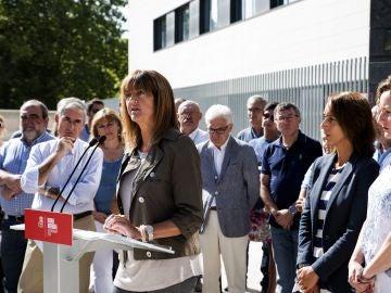 La candidata a Lehendakari, Idoia Mendia