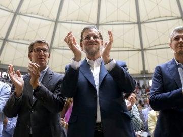 Mariano Rajoy, en el acto en Pontevedra