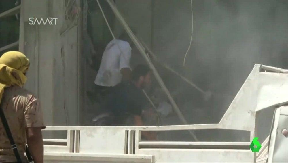 Bombardeos Siria