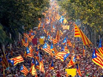 La Asamblea Nacional Catalana (ANC) ha dado a conocer hoy el tipo de acto que piensa organizar para la Diada de este año