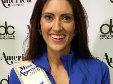 Erin O'Flaherty, candidata a ser Miss Estados Unidos