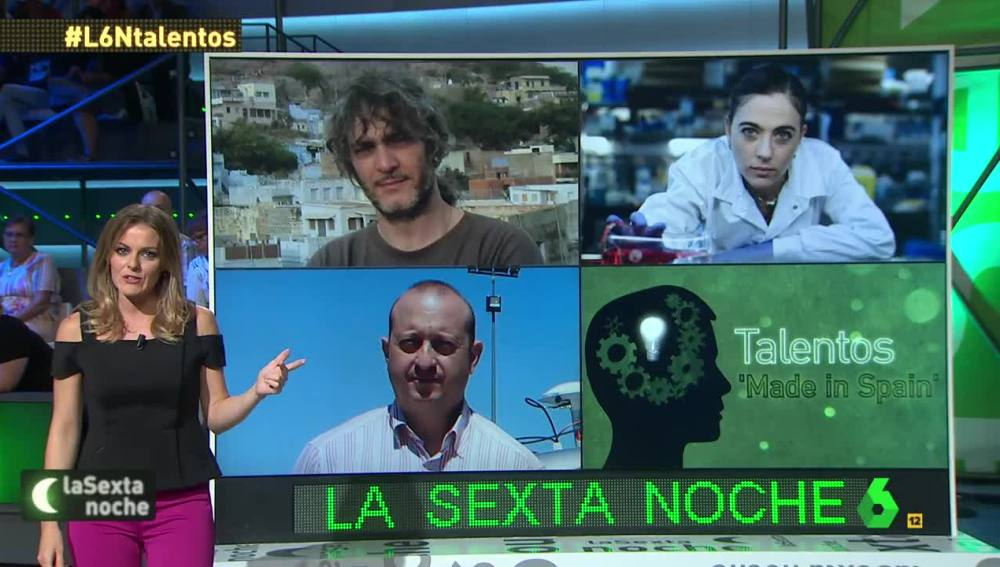 Jóvenes talentos españoles en laSexta Noche