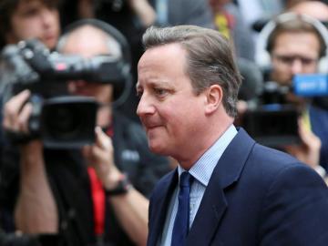 El exprimer ministro británico David Cameron
