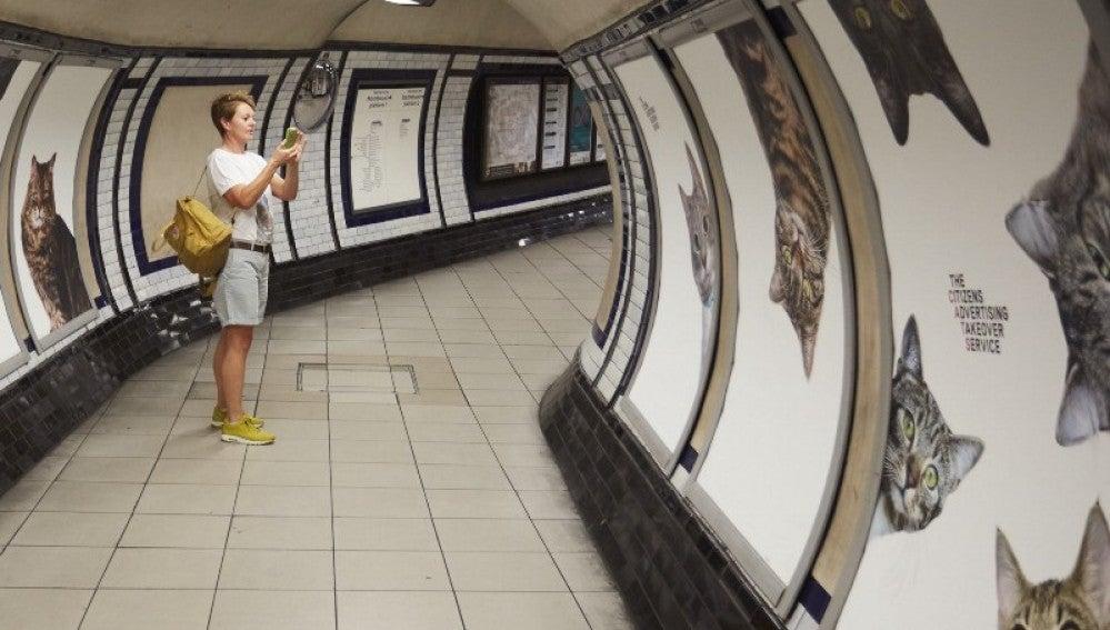 Un nuevo colectivo que quiere usar el poder de la creatividad para bien. El metro de Londres ya forma parte de esta iniciativa.