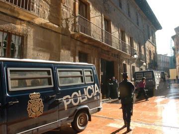 Fachada de La Audiencia Provincial de Oviedo