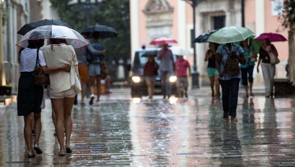 """Aemet avisa de """"un cambio brusco"""" de la situación meteorológica"""