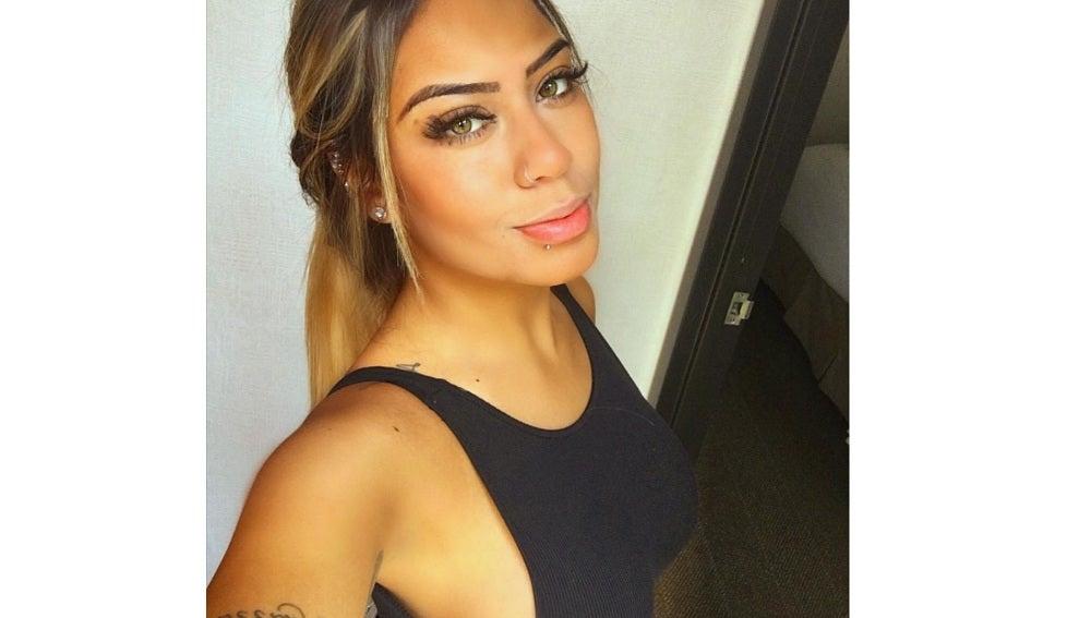 Una de las fotografías de Rafaella en Instagram.