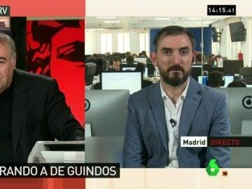 """Ignacio Escolar, sobre la división del PP: """"De Guindos mintió durante días, según el PP, incluso al propio presidente"""""""