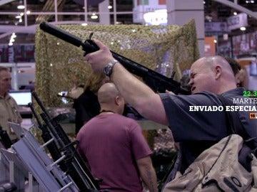 Enviado Especial analiza la cultura de las armas de EEUU