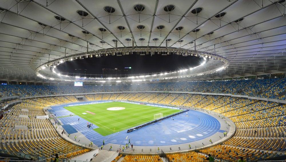 Panorámica del Olímpico de Kiev.