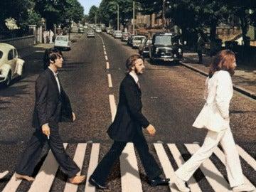 George Harrison, Paul Mc Cartney, Ringo Star y John Lennon