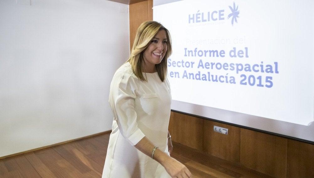 """Susana Díaz, de Chavez y Griñán: """"Creo firmemente en la honestidad y honradez de los dos"""""""