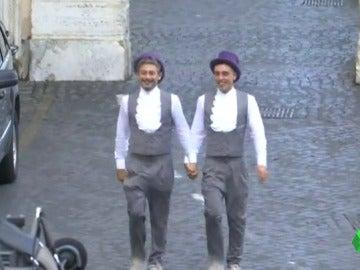 Frame 4.832994 de: boda en roma