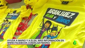 Acciones solidarias en Aranjuez para ayudar a Mario y Elsa, enfermos de ELA infantil