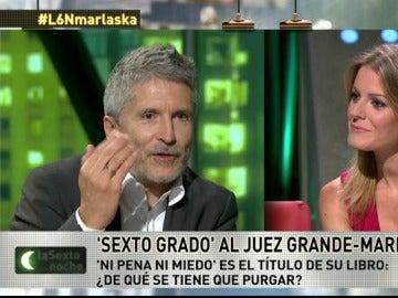 """Frame 43.529971 de: El juez Fernando Grande-Marlaska: """"Las presiones existen y tú las percibes, estás ya acostumbrado"""""""