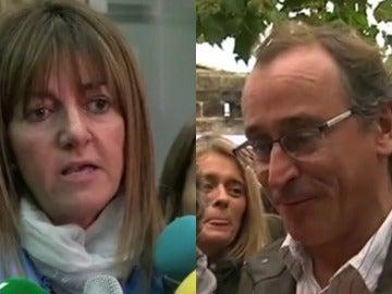 Alfonso Alonso e Idoia Mendia