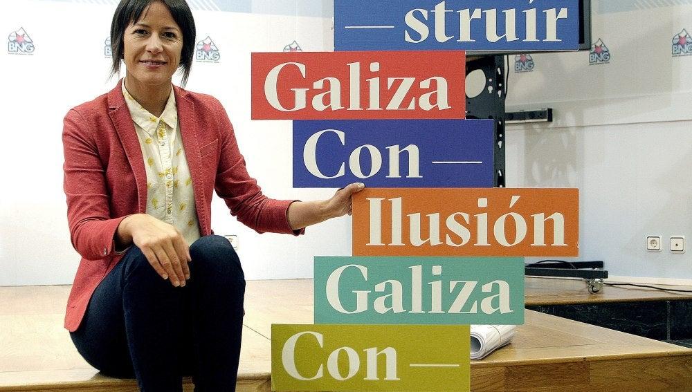 Portavoz nacional del BNG, Ana Pontón