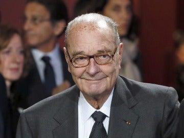 El expresidente francés Jacques Chirac (Archivo)