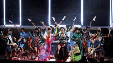 Los Juegos paralímpicos, llenos de color y música