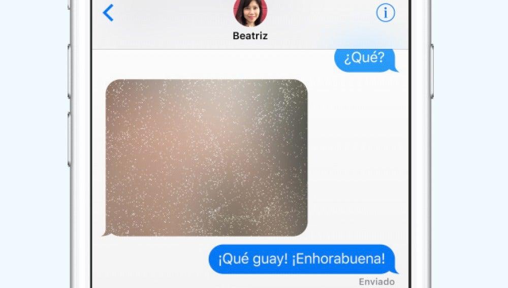 Mensajes en iOS10