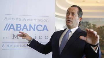 Juan Carlos Escotet, actual vicepresidente de la entidad financiera Abanca
