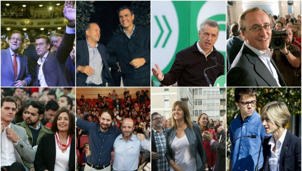 Elecciones gallegas y vascas del 25S