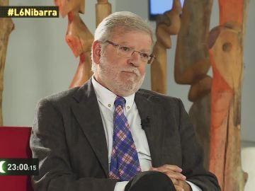 Rodríguez Ibarra durante la entrevista en laSextaNoche