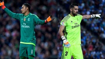 Vuelve el debate de la portería en el Real Madrid