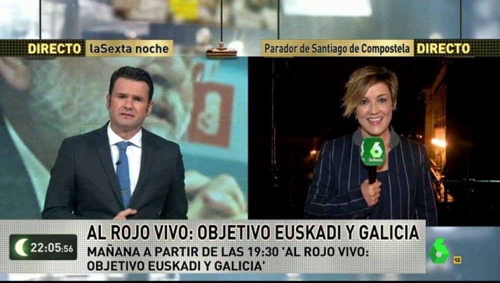 """Frame 106.494492 de: Cristina Pardo: """"Ferreras no tendrá un pactómetro sino dos como mínimo, y eso es algo que nadie se debería perder"""""""
