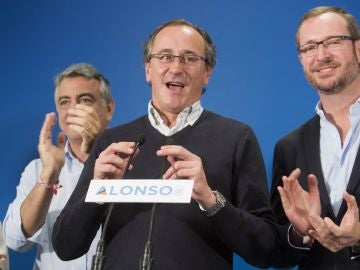 El candidato a lehendakari por el PP, Alfonso Alonso
