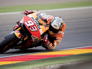Márquez vuelve a ganar en el GP de Aragón