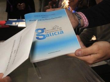 Manual de instrucciones para los miembros de mesas electorales en Galicia