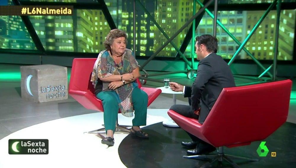 """Frame 83.307913 de: Cristina Almeida: """"Me parece un pitorreo tener que acudir a nuevas elecciones"""""""
