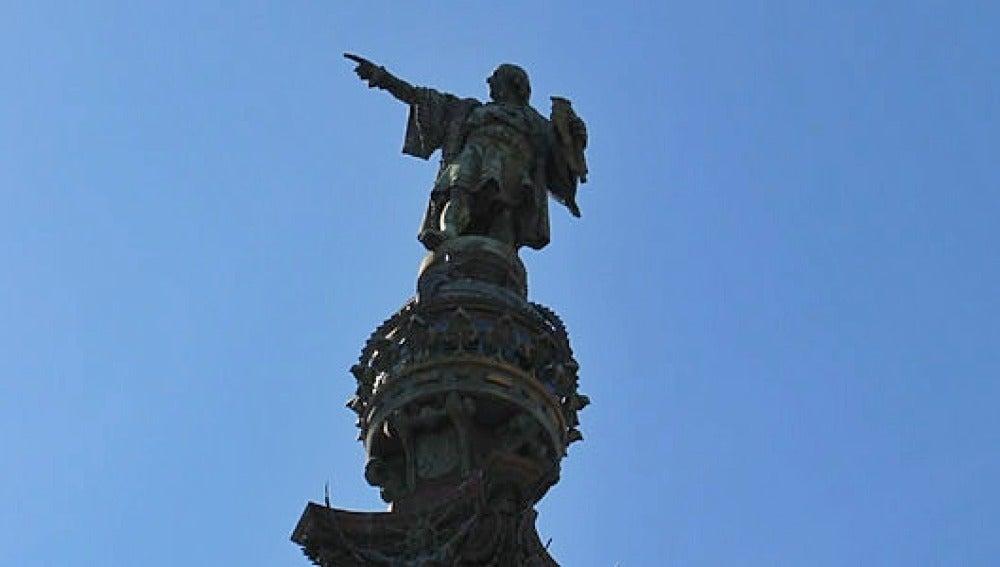 Monumento Cristóbal Colón en Barcelona