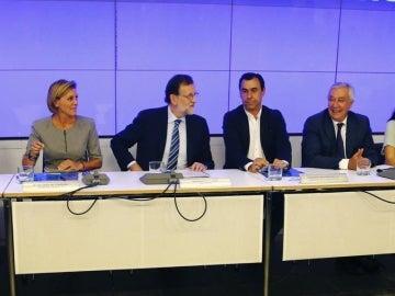 Mariano Rajoy en el Comité Ejecutivo Nacional del PP