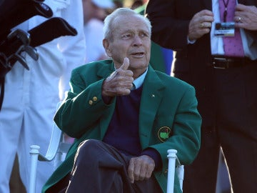 Arnold Palmer, leyenda del golf, muerte a los años 87 de edad.