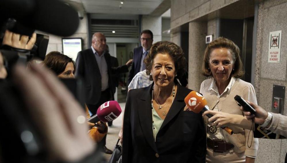 Rita Barberá acude al Senado