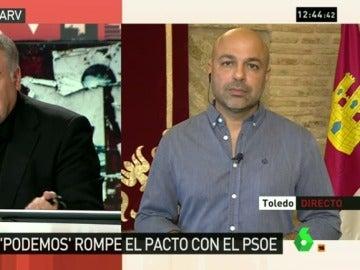 """José García Molina, tras romper el acuerdo con el PSOE: """"Es una vergüenza pensar que es un complot nacional"""""""