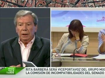 """El exministro Corcuera critica duramente a Sánchez: """"Debería haber dimitido tras el 20D, es de ética política"""""""