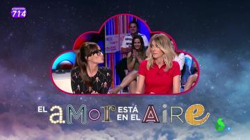 Anna Simon y Ana Morgade, las elegidas para darse un beso