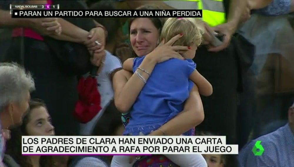 """Frame 46.469556 de: Elena Cantó: """"Piensas en tu hija, pero también piensas: 'Madre mía, estoy en un partido y no sé cómo lo haré'"""""""