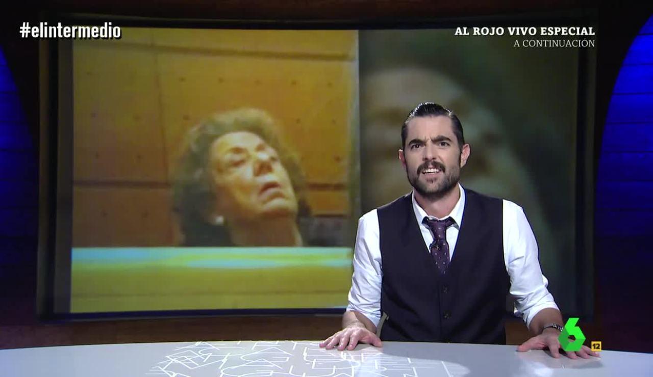 Dani Mateo da las últimas noticias sobre Rita Barberá