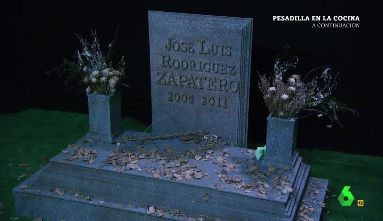 La tumba de Zapatero