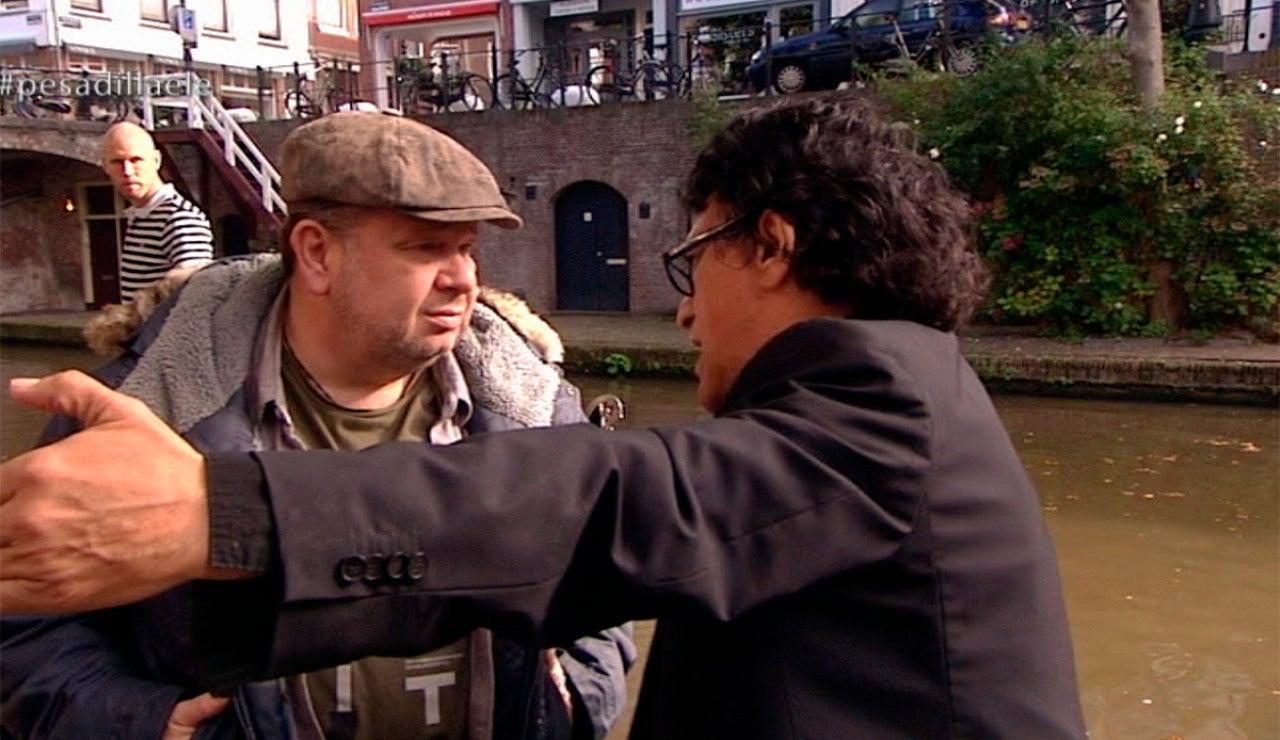 Fermín se presenta al chef Chicote en Utrecht