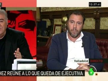 """Puente: """"Los críticos quieren una abstención vergonzante al PP para que cuando en el PSOE sólo queden cenizas llegue la salvadora"""""""