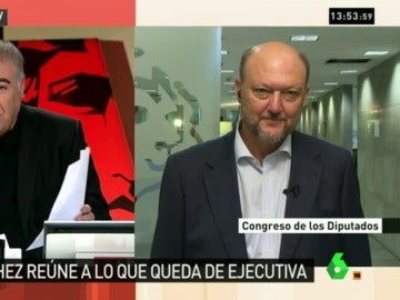 """Pradas, de los defensores de Sánchez: """"Muchos saben que están cometiendo una tropelía, espero que cumplan la ley"""""""